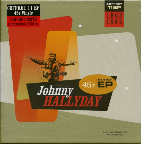 Johnny Hallyday 1963-1964 (11x7inch EP, 45rpm, Ltd.)