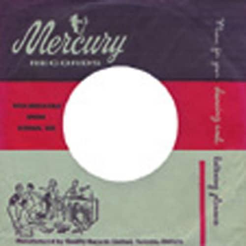 (50) Mercury, Canada - 45rpm record sleeve - 7inch Single Cover