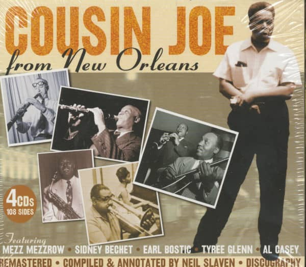 Cousin Joe From New Orleans (4-CD)