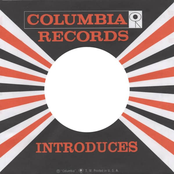 (50) Columbia, USA - 45rpm record sleeve - 7inch Single Cover