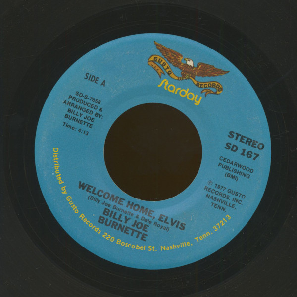 Welcome Home, Elvis - I Haven't Seen Mama In Years (7inch, 45rpm)