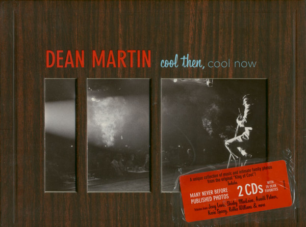 Martin, Dean Cool Then, Cool Now (2-CD Digibook) Limited