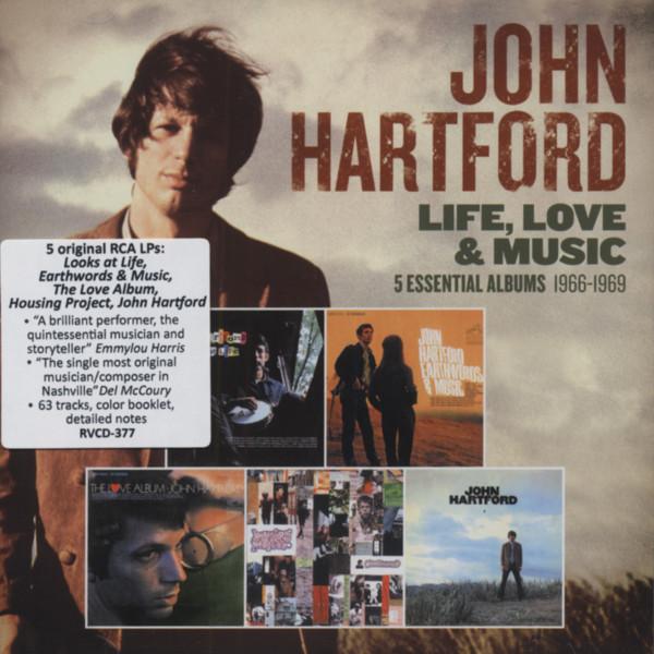 Life, Love & Music - 5 Essential Albums 1966-69