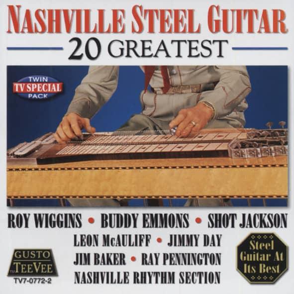 Va Nashville Steel Guitar - 20 Greatest
