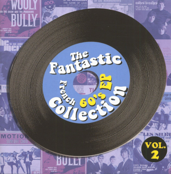Vol.2, Fantastic French 60's EP Colletion 2-C