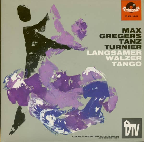 Max Gregers Tanz Turnier - Langsamer Walzer & Tango (7inch, 45rpm, EP, PS)