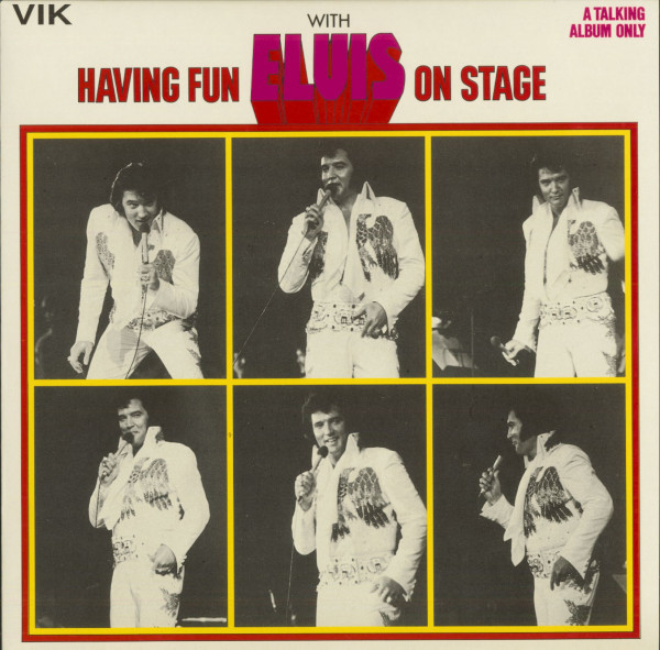 Having Fun With Elvis On Stage - A Talking Album Only (LP)