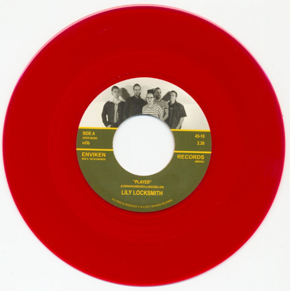 Player - No Use But O'Well (7inch, 45rpm, Red Vinyl)