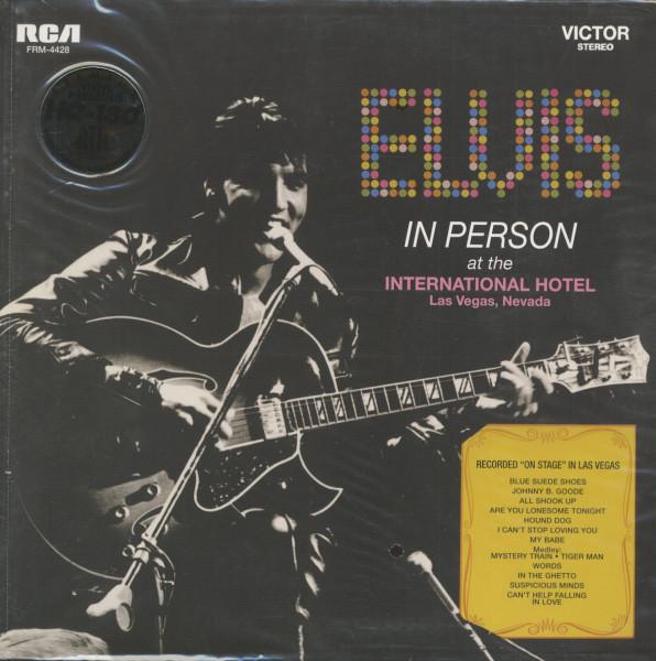 In Person At The International Hotel, Las Vegas, Nevada (LP, 180g Vinyl, Ltd. Deluxe Edition)