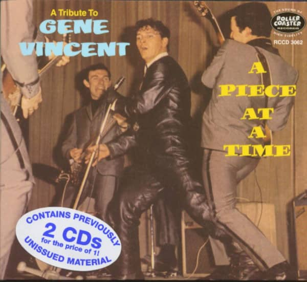 A Piece At A Time - A Tribute To Gene Vincent (2-CD)