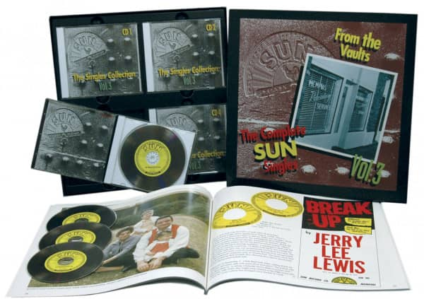 The Sun Singles Vol.3 (4-CD & Buch)