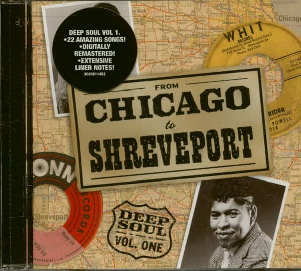 Deep Soul Vol.1 - From Chicago To Shreveport (CD)