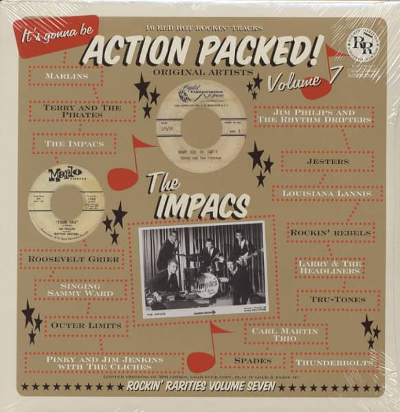 Action Packed! Vol.7 (LP)