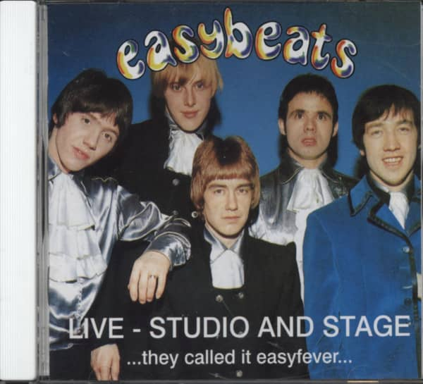 Easybeats Live - Studio And Stage ..Easyfever...