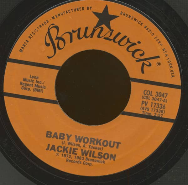Baby Workout - I'll Be Satisfied (7inch, 45rpm)