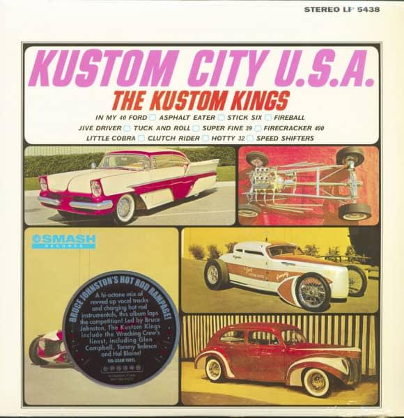 Kustoms City U.S.A. (LP, 180g Vinyl)