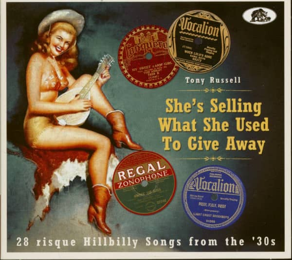 She's Selling What She Used To Give Away (CD)