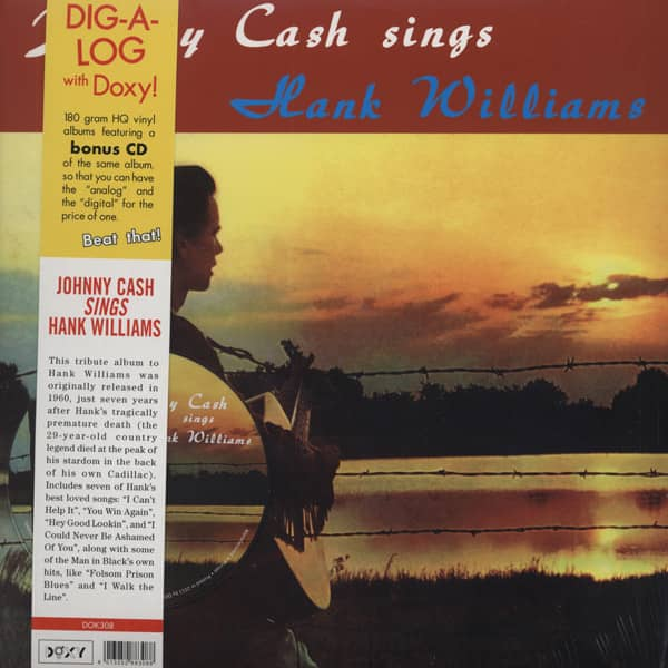 Johnny Cash Sings Hank Williams (LP & CD, 180g Vinyl)