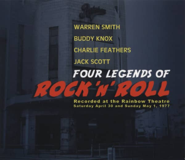 Various Four Legends Of Rock 'n' Roll