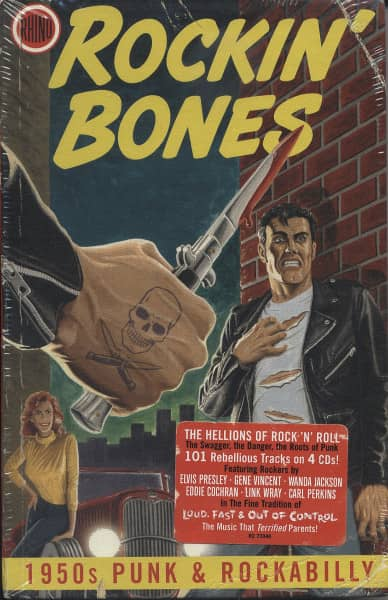 Rockin' Bones (4-CD Hardcover Digibook)