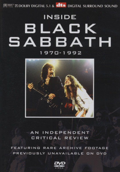 Black Sabbath Inside Black Sabbath - 1970-92 (0)