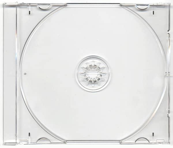 CD tray clair