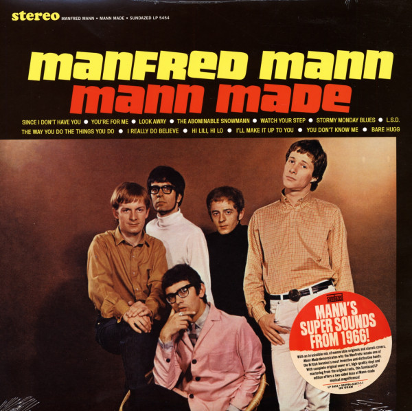 Mann, Manfred Mann Made 1965 (180g)