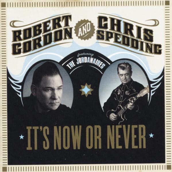 Gordon, Robert & Chris Speddin It's Now Or Never (US) Slipcase Packaging