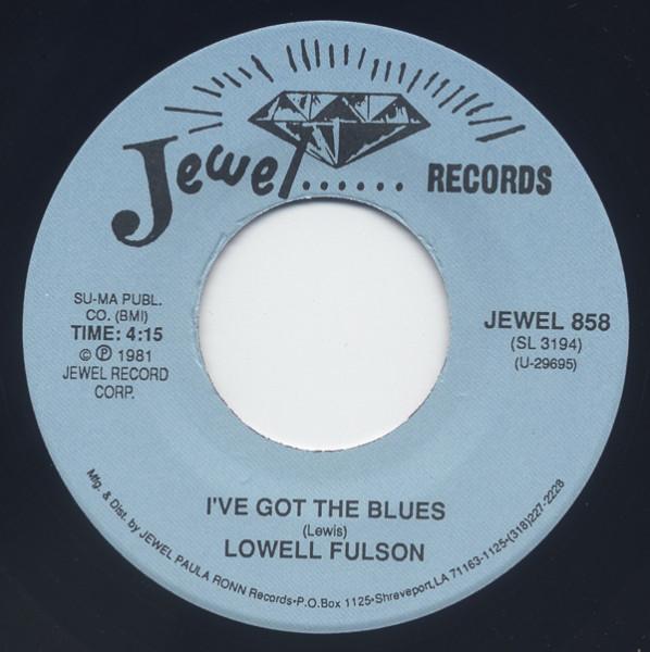 I've Got The Blues - Change Of Heart