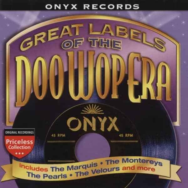 Va Onyx Records - Labels Of The Doo Wop Era
