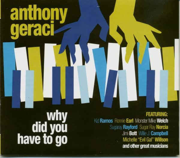 Why Did You Have To Go (CD)