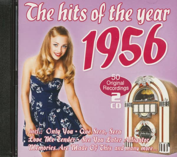 The Hits Of The Year 1956 - 50 Original Recordings (2-CD)