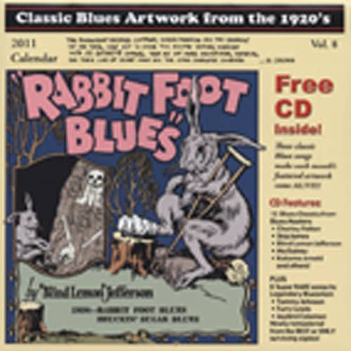 Classic Blues Artwork from the 1920's and 1930's with CD