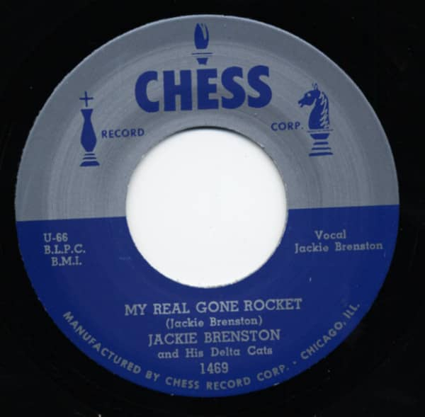 My Real Gone Rocket b-w Tuckered Out 7inch, 45rpm