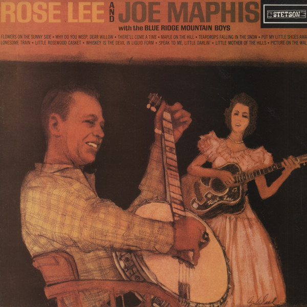 Rose Lee & Joe Maphis with The Blue Ridge Mountain Boys