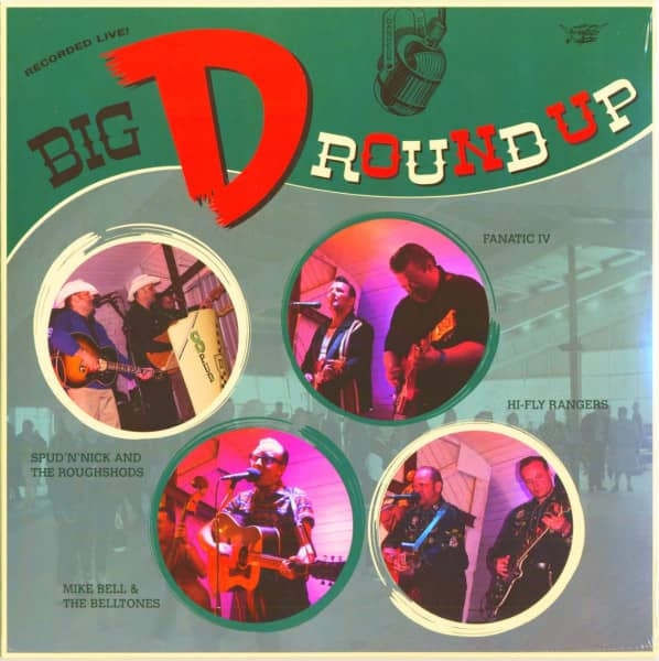 Big D Round Up (LP, 10inch)
