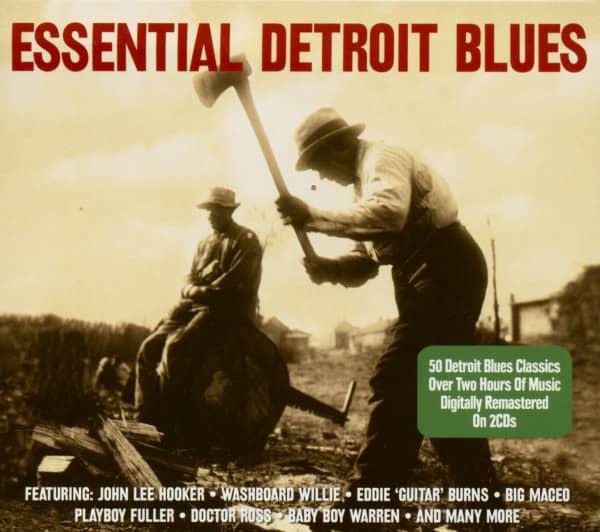 Essential Detroit Blues (2-CD)