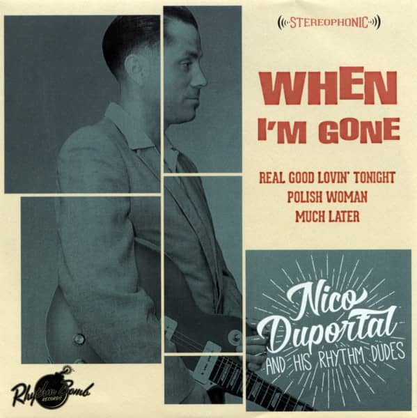 When I'm Gone 7inch , EP, PS, 33rpm