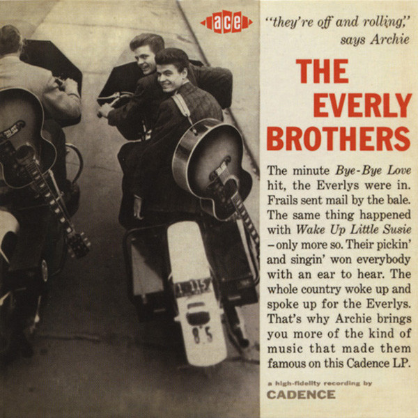 Everly Bros They're Off And Rollin' - Papersleeve