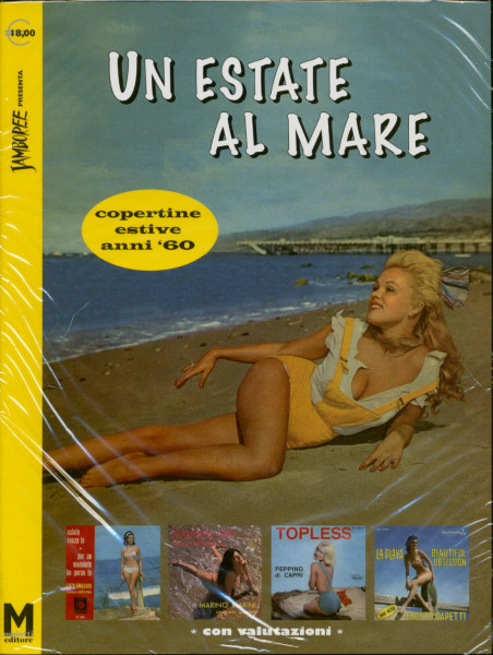 Un Estate Al Mare (copertine estive anni '60) Seaside and Beach Covers Italy 1960s