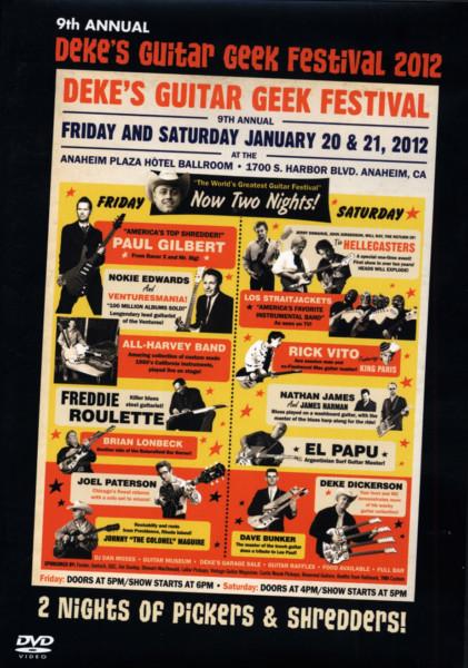 Dickerson, Deke & Friends Deke's Guitar Geek Festival 2012 (0)
