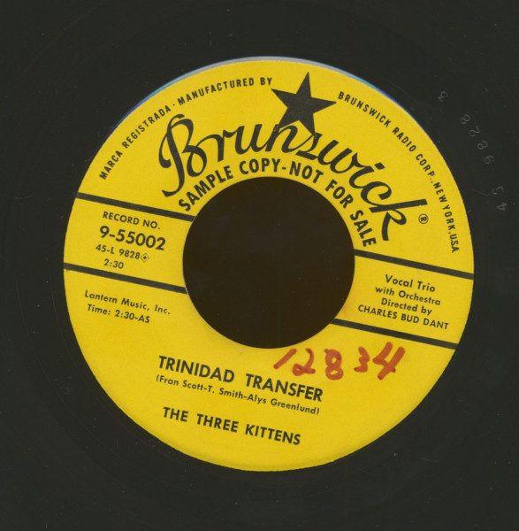 Trinidad Transfer - Cat An' Mouse (7inch, 45rpm)