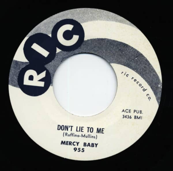 Don't Lie To Me b-w Pleadin' 7inch, 45rpm