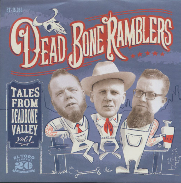 Tales From Dead Bone Valley (EP & CD, 7inch, 33rpm, PS, SC)