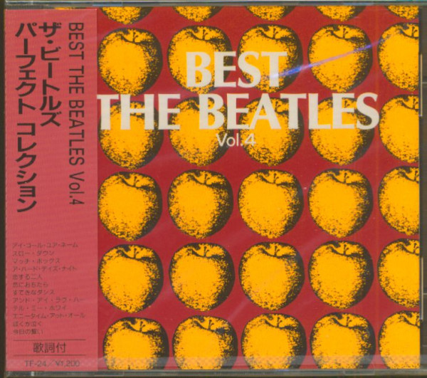 Best - The Beatles, Vol.4 (CD, Japan)