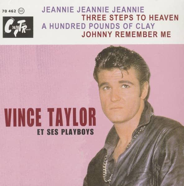 Vince Taylor Et Ses Playboys 7inch, 45rpm, EP, PS