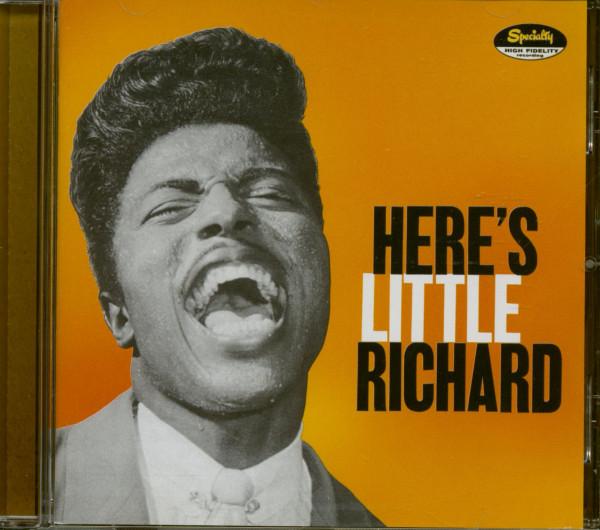 Here's Little Richard (CD, enhanced, bonus tracks)