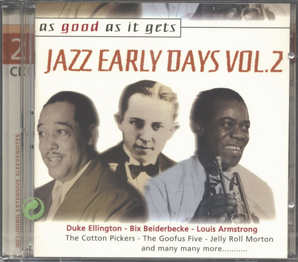 As Good As It Gets - Early Jazz Vol.2 2-CD