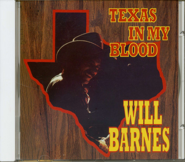 Texas In My Blood (CD)