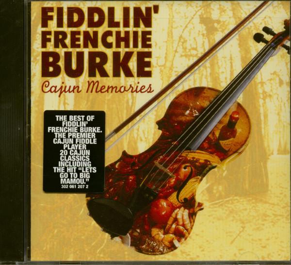 Fiddlin' Frenchie Burke - Cajun Memories (CD)